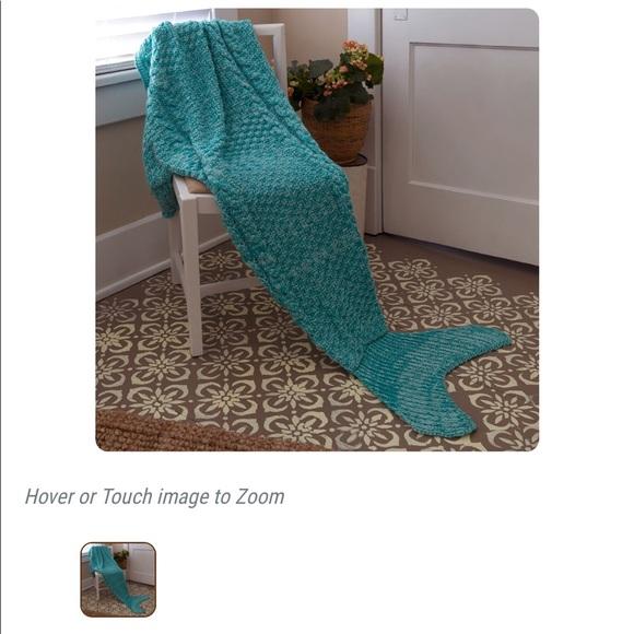 fe576cb7875c Cracker Barrel Accessories | Mermaid Blanket Nwt | Poshmark